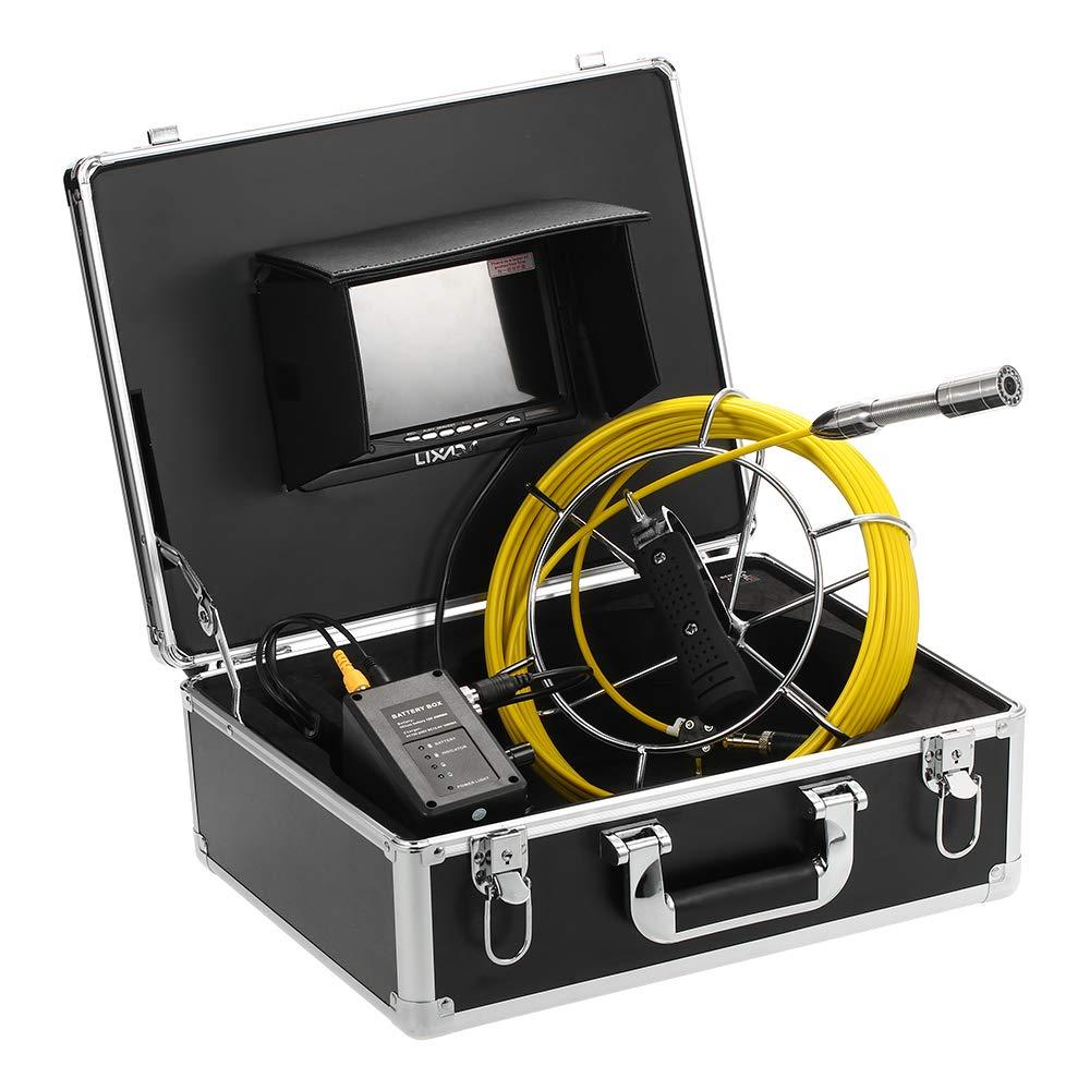 Lixada イプライン検査カメラ 防水 排水管 下水道検査カメラ 7