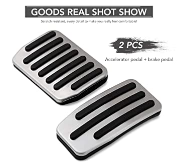 Non Slip Performance Foot Pedal Pads Auto Pedal Covers Fit Tesla Model 3 Accessories