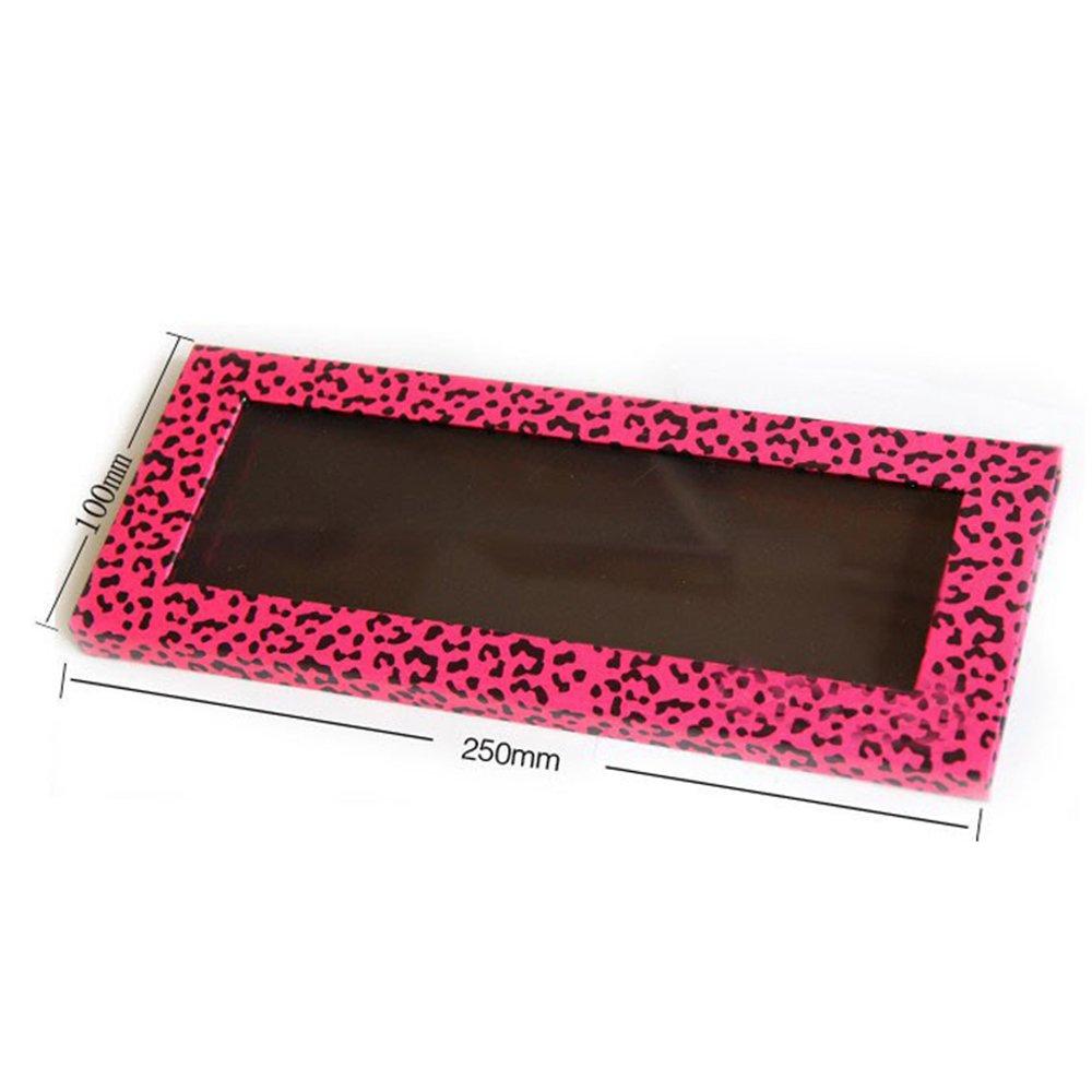 coosei 9, 8* 3.9in paleta de maquillaje magnético vacío sombra de ojos paleta caliente rosa Leopardo llenar 12* 36mm sartenes Keenly