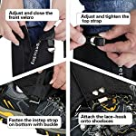 EnergeticSky-Leg-Gaiters-Waterproof-Snow-Boot-Gaiters-for-Men-and-WomenGaiters-for-HikingSnowshoeingHuntingClimbingRunning1000D-Anti-Tear-Oxford-Cloth-Hiking-Gaiters-5