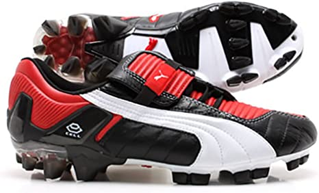 FG Leather Football Boots Soccer Cleats