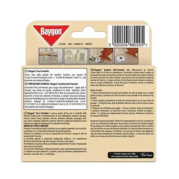 Baygon Esca Insetticida Formiche Pronta all'Uso, Protezione Cucina 30 g - Confezione da 1 Esca per Uso in Spazi Interni… 2 spesavip