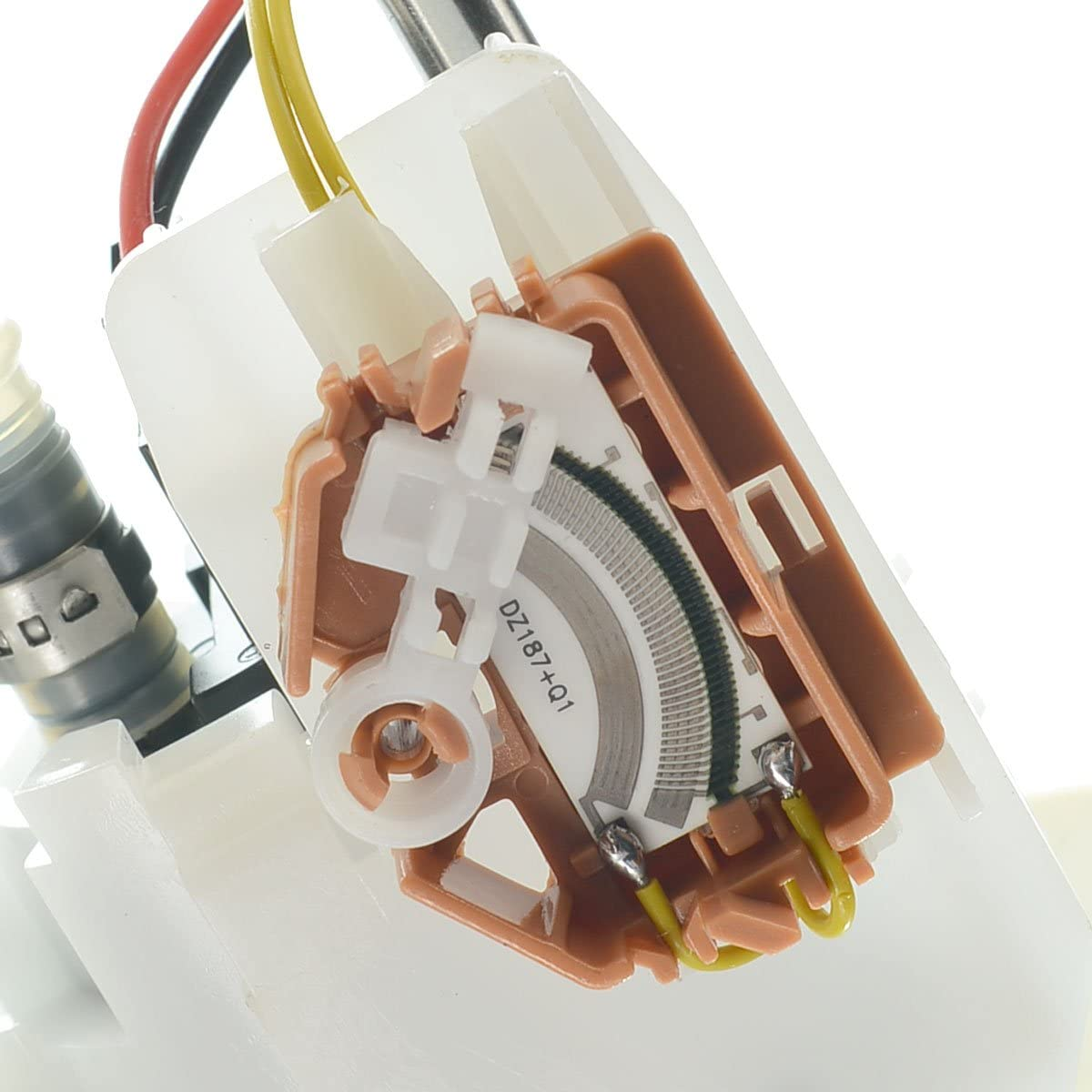 A-Premium Electric Fuel Pump Module Assembly Replacement for 2002-2003 Ford Explorer Sport Trac 4.0L E2348M 4 Pin Connector