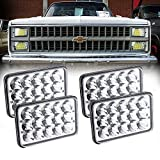 Best Headlight For Replacements - Dot Approved 60W Philips Chips 4x6 inch LED Review