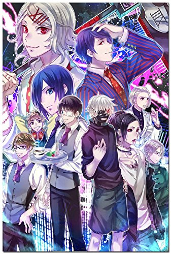 Tomorrow sunny Tokyo Ghoul Japanese Anime Art Silk Poster 24