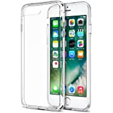 iPhone 7 Plus Case, Trianium [Clarium Series] Premium Shock Absorption TPU Bumper Cushion + Scratch Resistant Clear Protective Cases Hard Cover for Apple iPhone 7 Plus 2016 - Clear (TM000027)