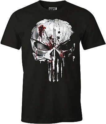 t-shirt tête de mort homme 10