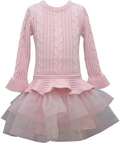 BONNIE JEAN Baby Girls/' 24M Tutu Sweater Dress /& Leggings Set NWT $48