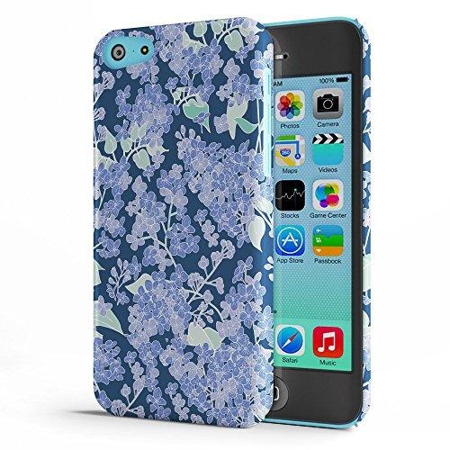 Koveru Back Cover Case for Apple iPhone 5C - Lilac Design