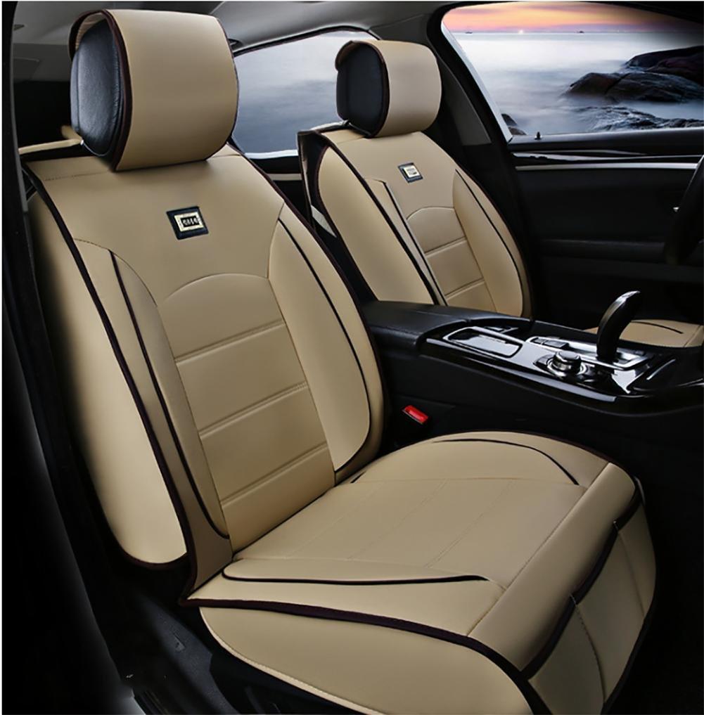 SHISHANG cuir pleine coussin universel de voiture fixe la version de luxe (de 11Réglez) cinq ensembles de coussins de voiture généraux de protection de l'environnement quatre saisons de sélection commune 3 couleurs , #32