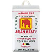 Asian Best Jasmine Rice, 25 Pound