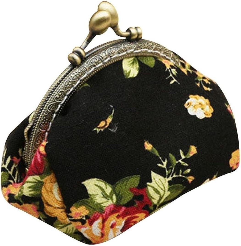 Fashion Cute Women Retro Vintage Flower Small