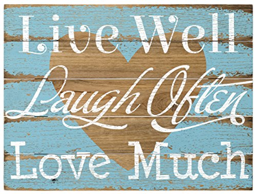 Used, Malden International Designs Rustic Wall Sign Live for sale  Delivered anywhere in USA