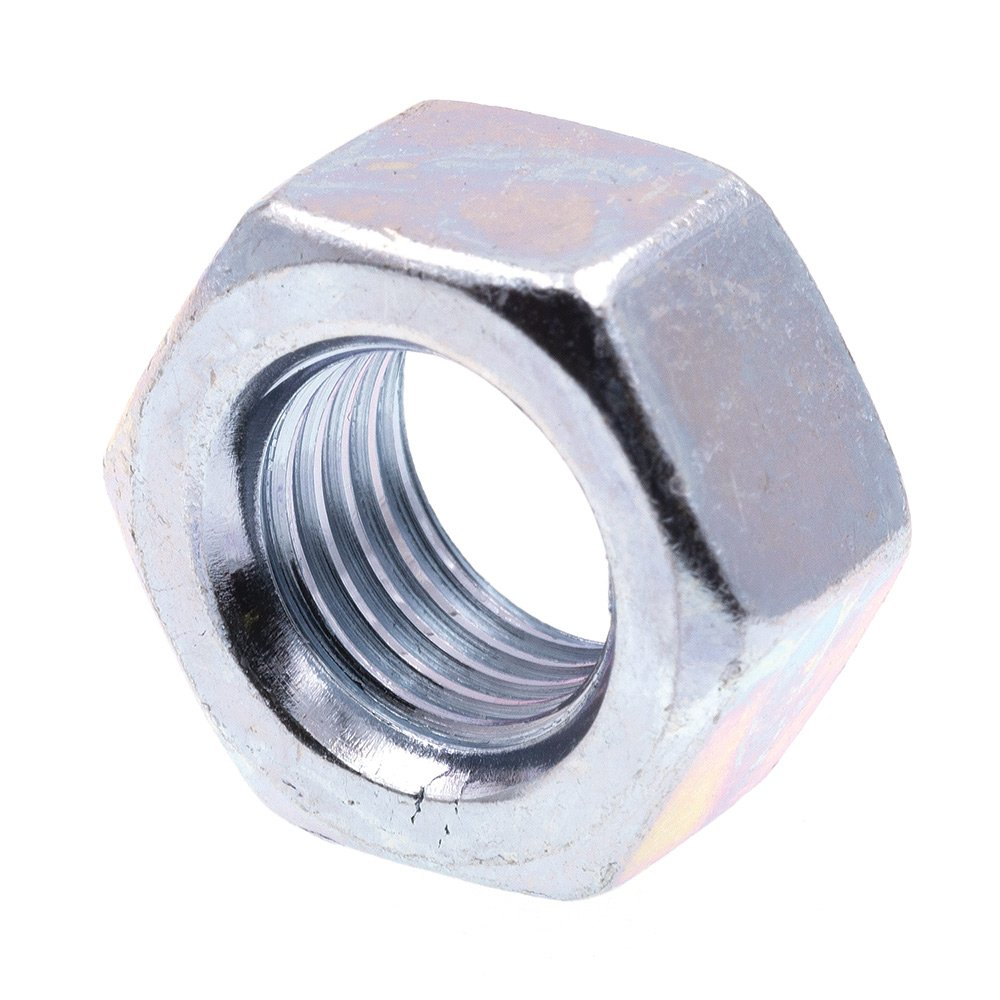 Prime-Line 9073221 Finished Hex Nuts 1//4 in.-20 A563 Grade A Zinc Plated Steel 50-Pack