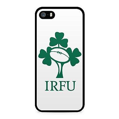 buy online 2d5e8 4eeca IRFU IRELAND IRISH RUGBY HARD BACK PLASTIC PHONE CASE APPLE IPHONE 5-5S  (Black)