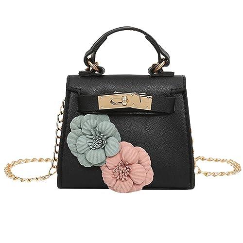 e2808669621 Felice Little Girls Women Cute Handbags Mini Tote Shoulder Crossbody Bags  Purse Gifts for Girls (