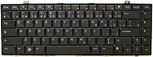 New 2NVCK Genuine OEM Dell Studio 1450 1457 1458 XPS 15 L501 Series Laptop Notebook Netbook Keyboard Keypad French Canadian Board Layout Keys Typing Soft keys NSK-DJGOM Assembly