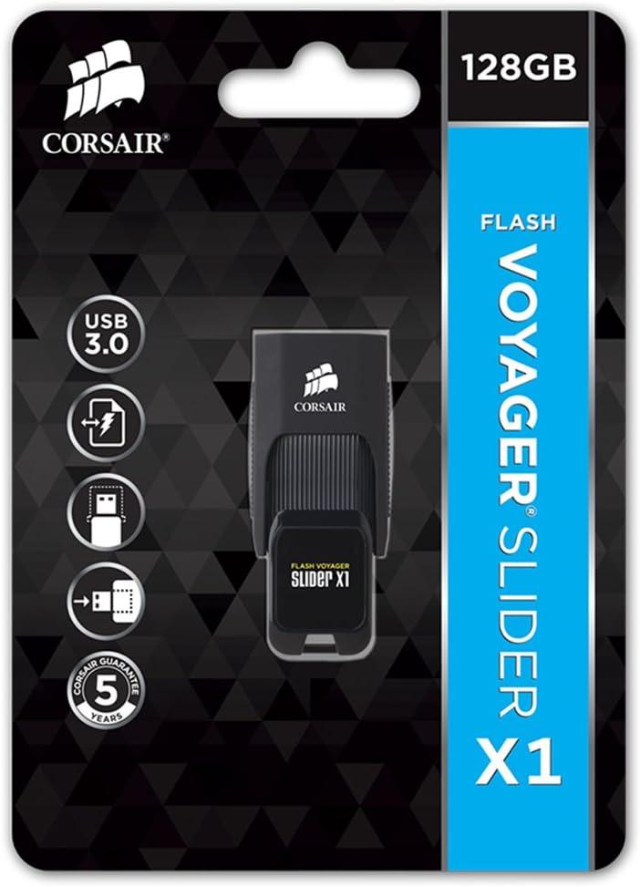 Corsair CMFSL3X1-256GB Flash Voyager Slider X1 256GB USB 3.0 Flash Drive