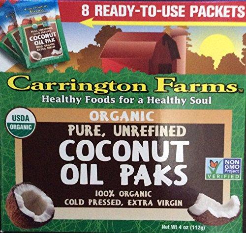 Carrington Farms Unrefined Coconut Ounce