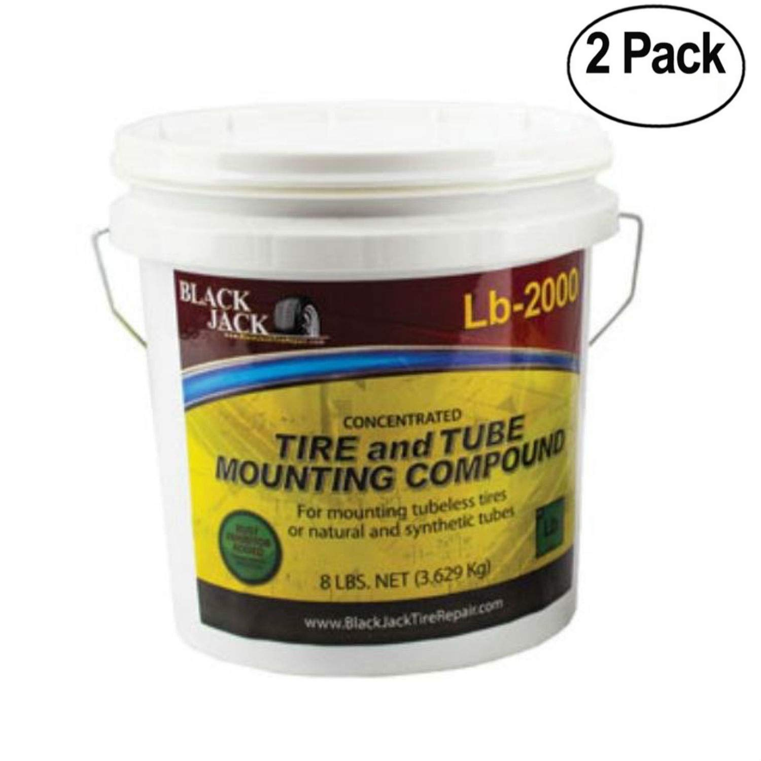 BJK Murphys Concentrated Paste, 8lb Pail-by-Black Jack TIRE Repair - Pack of 2 by BJK