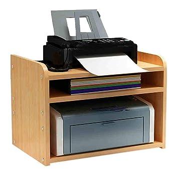 AZWE Impresora de sobremesa Soportes de impresora de escritorio ...