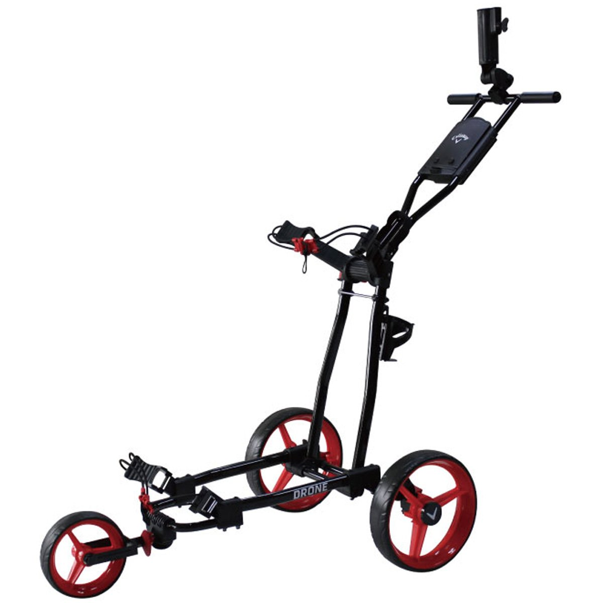 キャロウェイゴルフ Callaway Golf キャディバッグ DRONE 3 WHEEL カート 070021500065 レッド B076LBKSJP