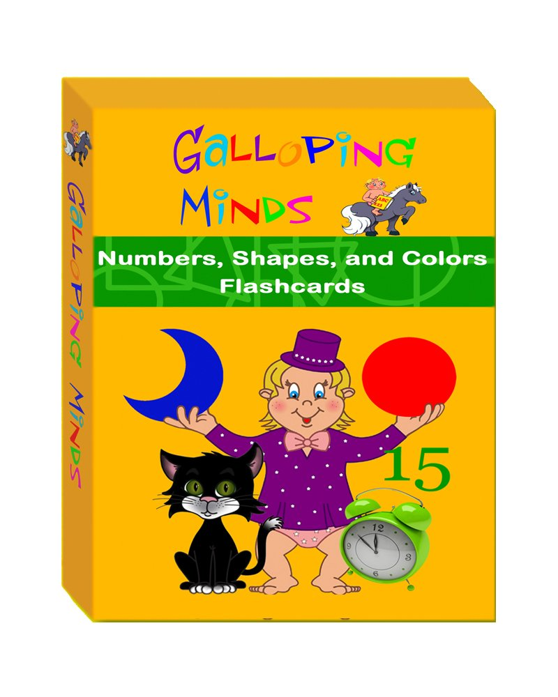 Galloping Minds: Numbers, Shapes and Colors Flash Cards pdf
