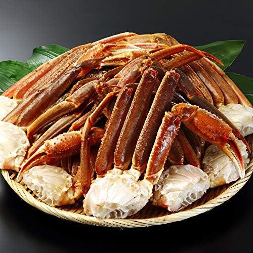 生 ズワイガニ 【 笑顔の食卓 匠 】 大型4L 生ずわい蟹 肩脚 12~14肩 4kg超