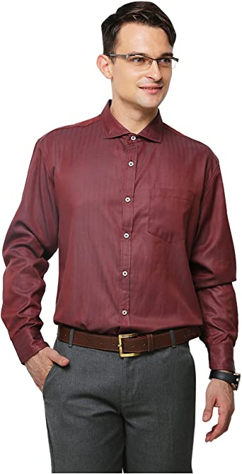 Yepme - Camisa casual - para hombre marrón rojo (Maroon) 40 ...