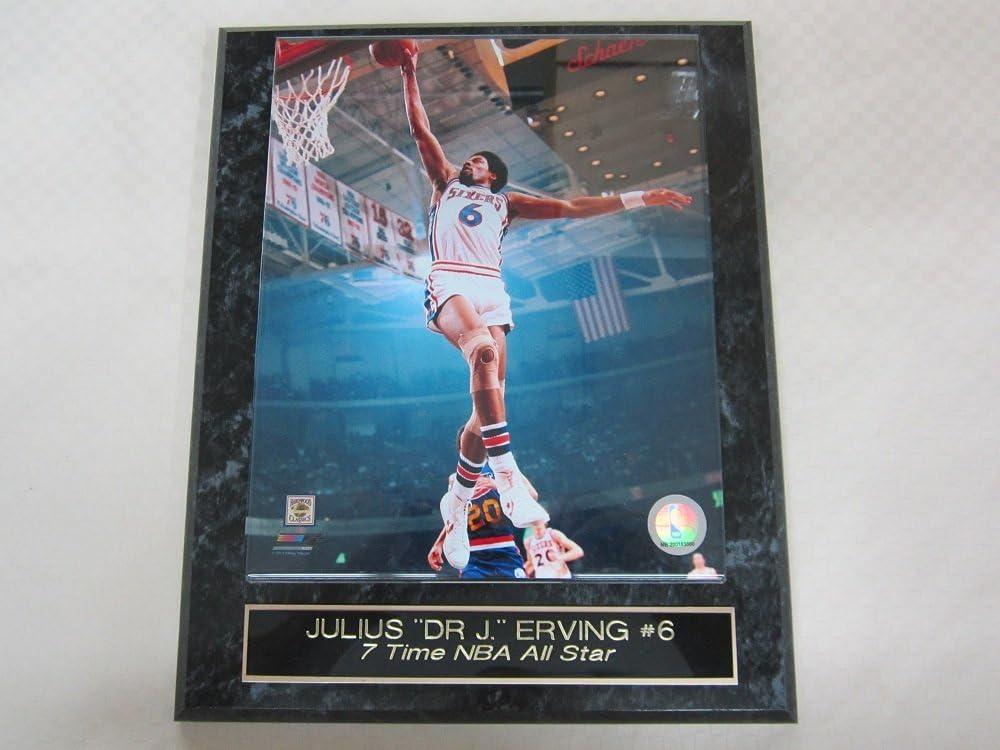 B007MX3UDW Julius Erving Dr J Philadelphia 76ers Engraved Collector Plaque #1 w/8x10 Photo 61QtULpBynL