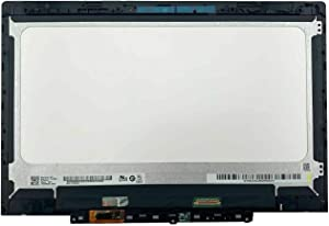 WARWOLFTEAM Replacement 11.6'' LCD Touch Screen Display Assembly with Frame for 300e 2nd Gen Chromebook 81MB (Not Work for 300e 1st Gen or Winbook)