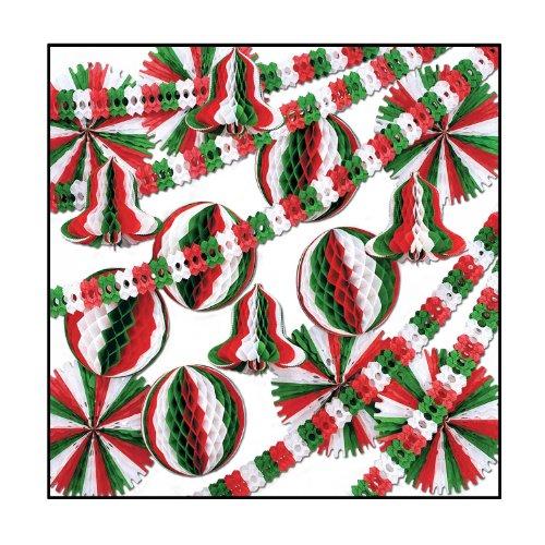 Beistle 27-Piece Christmas Display Decorator Kit