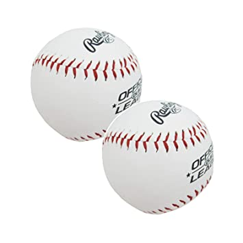 RAWLINGS - Pelotas de béisbol con Logo MLB (2 Unidades): Amazon.es ...