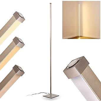 Led Stehlampe Soyo Aus Metall Im Geraden Design Bodenlampe Fur
