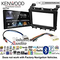 Volunteer Audio Kenwood DMX7704S Double Din Radio Install Kit with Apple CarPlay Android Auto Bluetooth Fits 2009-2016 Nissan Maxima