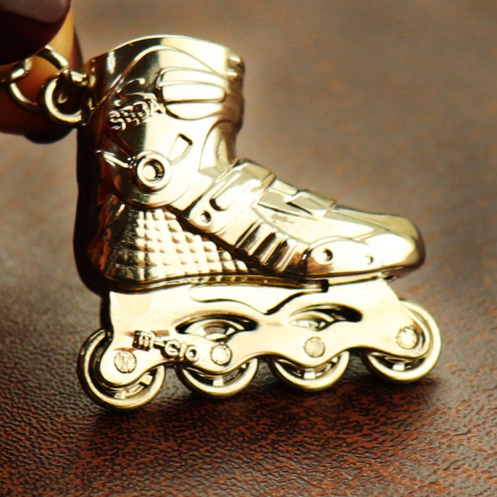 YQCZ Llavero Skate Llavero Hombres Mujeres Roller Skate ...