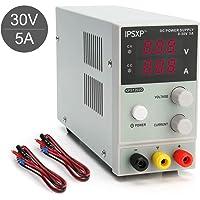 IPSXP Alimentatore da Laboratorio DC Regolabile Stabilizzato, Alimentatore da Banco 0-30V / 0-5A