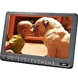 """A&V 9 """"portatile HD TV digitale Freeview con HDMI-Port, DVB-T / DVB-T2 H.264 / H.265 HD Tuner- aerea gratuita per la cucina, Village, Cavaran, Camper, Ospedale, Case di cura, Camera da letto…"""