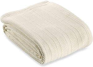 Wamsutta Classic Homegrown Cotton Blanket (Ivory, King)