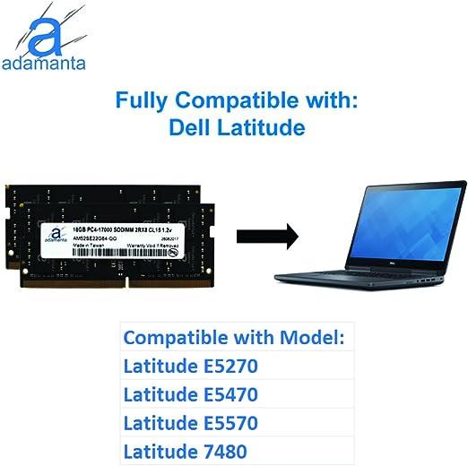 E5270 DDR4 2400MHz SODIMM RAM 16GB Memory Module for Dell Latitude 12 PARTS-QUICK BRAND