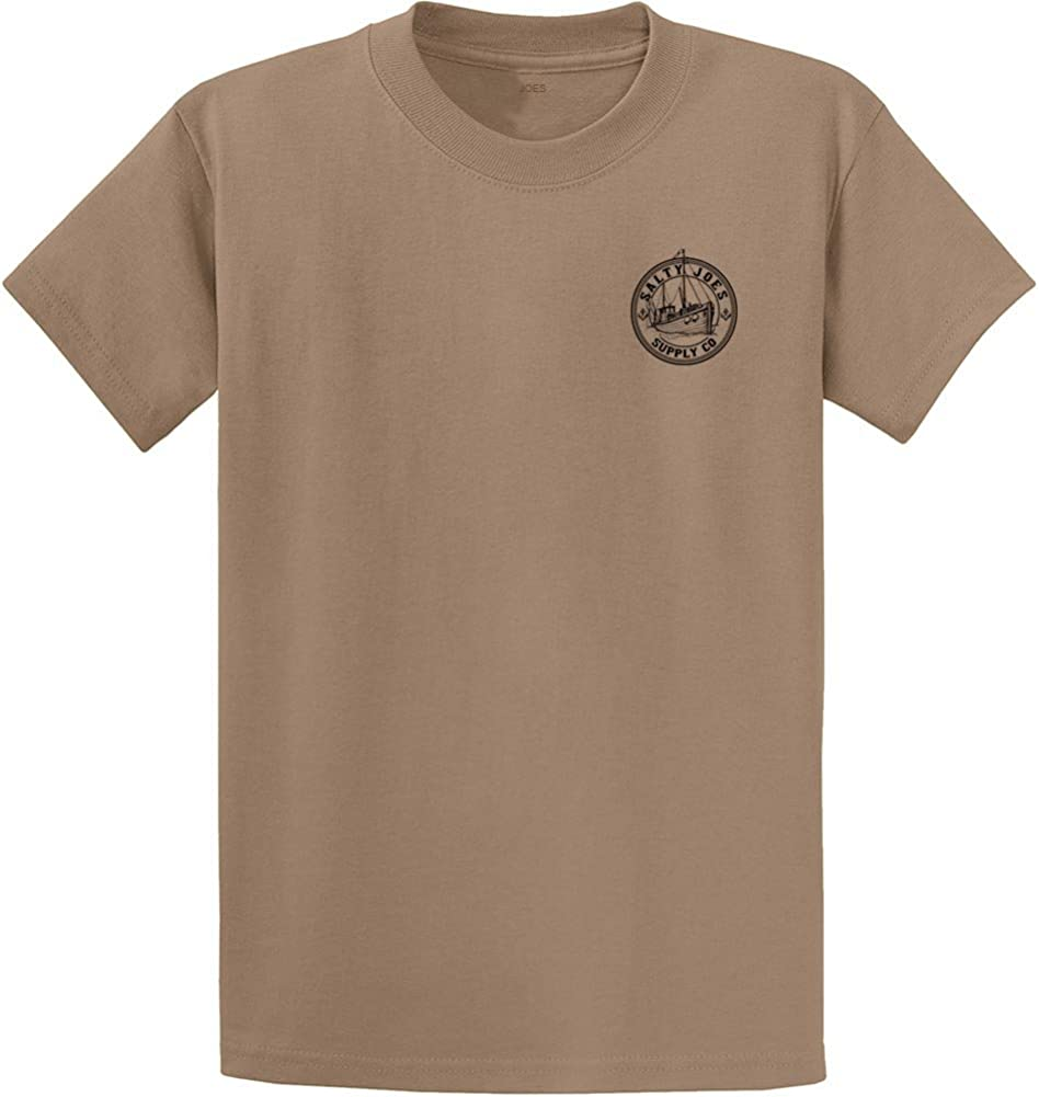 Salty Joes Graphic Heavyweight Cotton T-Shirts in Regular, Big and Tall