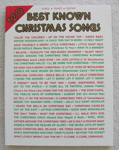 120 Best Known Christmas Songs (Best Known Christmas Songs)