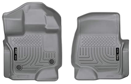 355f5a48291bb Husky Liners Front Floor Liners Fits 15-19 F150 SuperCrew/SuperCab