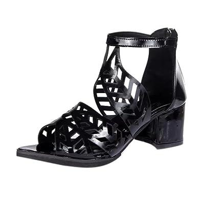 4bffdb7fbe Jamicy Women Sandals, Women Vintage Summer Platform Wedge High Heels  Bohemian Sandals Shoes (35
