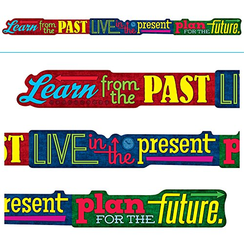 Trend Enterprises T-A25211BN 3 Each 10 ft. Learn From the Past Live in Banner