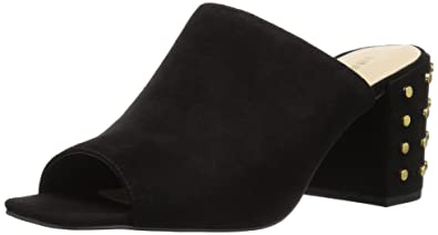 b2a3f2150e54 Nine West Women s Jeffrey Suede Mule Black