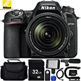 Nikon D7500 with Nikon AF-S 18-140mm ED VR Lens 9PC Accessory Bundle - Includes 32GB SD Memory Card + Professional 160 LED Video Light + Medium Carrying Case + Universal Wireless Shutter Remote + MORE