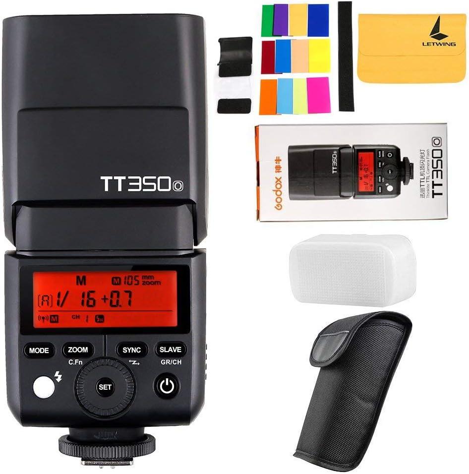 Godox Tt350o 2 4g Hss 1 8000s Speedlite Ttl Gn36 Camera Camera Photo
