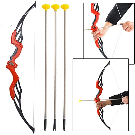 12//24pcs Child Archery Arrows with Suction Cup Safe Game for Training Bow Kids