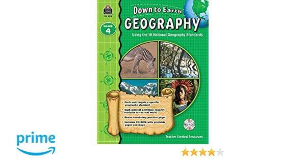 Amazon.com: Down to Earth Geography, Grade 4 (9781420692747): Ruth ...